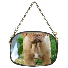 Cute Wrinkly Puppy Chain Purses (two Sides)  by trendistuff