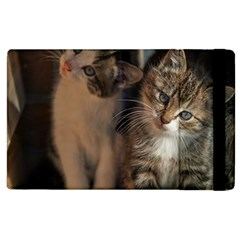 Cute Kitties Apple Ipad 3/4 Flip Case by trendistuff