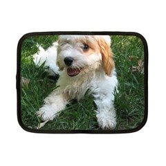 Cute Cavapoo Puppy Netbook Case (small)  by trendistuff