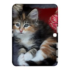 Comfy Kitty Samsung Galaxy Tab 4 (10 1 ) Hardshell Case  by trendistuff