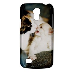 Calico Cat And White Kitty Galaxy S4 Mini by trendistuff