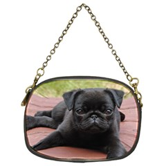 Alert Pug Puppy Chain Purses (two Sides)  by trendistuff