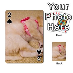Adorable Sleeping Puppy Playing Cards 54 Designs  by trendistuff