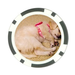 Adorable Sleeping Puppy Poker Chip Card Guards (10 Pack)  by trendistuff