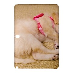 Adorable Sleeping Puppy Samsung Galaxy Tab Pro 10 1 Hardshell Case by trendistuff