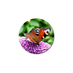 Peacock Butterfly Golf Ball Marker (4 Pack) by trendistuff