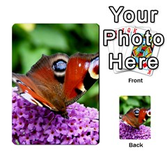 Peacock Butterfly Multi Purpose Cards (rectangle)