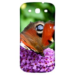 Peacock Butterfly Samsung Galaxy S3 S Iii Classic Hardshell Back Case by trendistuff
