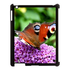 Peacock Butterfly Apple Ipad 3/4 Case (black) by trendistuff
