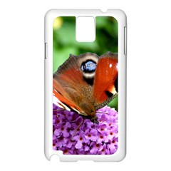 Peacock Butterfly Samsung Galaxy Note 3 N9005 Case (white) by trendistuff