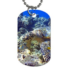 Sea Turtle Dog Tag (two Sides) by trendistuff