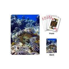 Sea Turtle Playing Cards (mini)  by trendistuff
