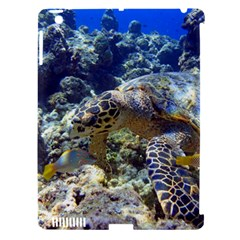 Sea Turtle Apple Ipad 3/4 Hardshell Case (compatible With Smart Cover) by trendistuff