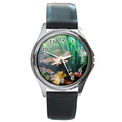 Marine Life Round Metal Watches by trendistuff