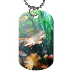 Marine Life Dog Tag (one Side) by trendistuff