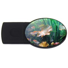 Marine Life Usb Flash Drive Oval (4 Gb)  by trendistuff