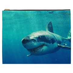 Great White Shark 1 Cosmetic Bag (xxxl)  by trendistuff