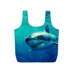 Great White Shark 1 Full Print Recycle Bags (s)  by trendistuff