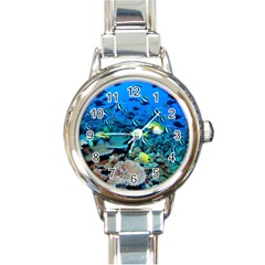 Fr Frigate Shoals Round Italian Charm Watches by trendistuff