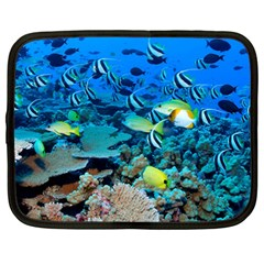 Fr Frigate Shoals Netbook Case (large) by trendistuff