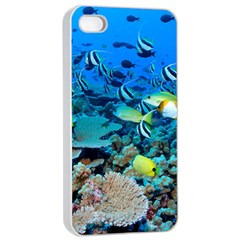 Fr Frigate Shoals Apple Iphone 4/4s Seamless Case (white) by trendistuff