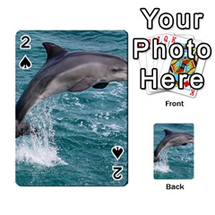 Dolphin Playing Cards 54 Designs  by trendistuff