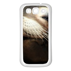 Cute Sea Lion Samsung Galaxy S3 Back Case (white) by trendistuff