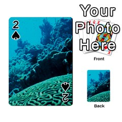 Coral Reefs 2 Playing Cards 54 Designs  by trendistuff