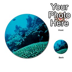 Coral Reefs 2 Multi Purpose Cards (round)  by trendistuff