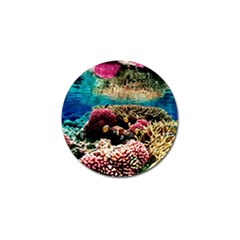 Coral Reefs 1 Golf Ball Marker (4 Pack) by trendistuff
