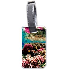 Coral Reefs 1 Luggage Tags (one Side)  by trendistuff