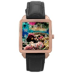 Coral Reefs 1 Rose Gold Watches by trendistuff