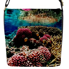 Coral Reefs 1 Flap Messenger Bag (s) by trendistuff