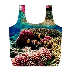Coral Reefs 1 Full Print Recycle Bags (l)  by trendistuff