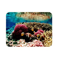 Coral Reefs 1 Double Sided Flano Blanket (mini)  by trendistuff