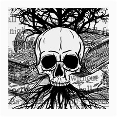 Skull & Books Medium Glasses Cloth (2-Side)