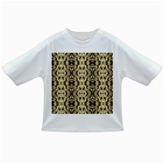 Gold Fabric Pattern Design Infant/toddler T Shirts by Costasonlineshop