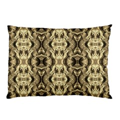 Gold Fabric Pattern Design Pillow Cases (two Sides)