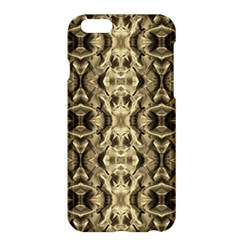 Gold Fabric Pattern Design Apple Iphone 6 Plus/6s Plus Hardshell Case by Costasonlineshop