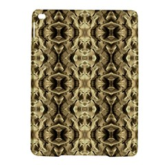 Gold Fabric Pattern Design Ipad Air 2 Hardshell Cases