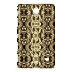 Gold Fabric Pattern Design Samsung Galaxy Tab 4 (7 ) Hardshell Case  by Costasonlineshop