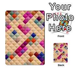 Mosaic & Co 01a  Multi Purpose Cards (rectangle)  by MoreColorsinLife
