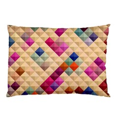 Mosaic & Co 01a  Pillow Cases by MoreColorsinLife