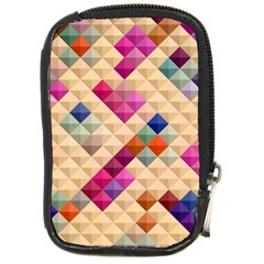 Mosaic & Co 01a  Compact Camera Cases by MoreColorsinLife
