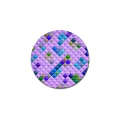 Mosaic & Co 01b Golf Ball Marker (10 Pack) by MoreColorsinLife