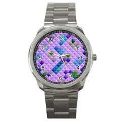 Mosaic & Co 01b Sport Metal Watches by MoreColorsinLife