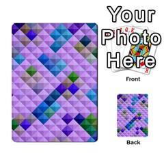 Mosaic & Co 01b Multi Purpose Cards (rectangle)  by MoreColorsinLife