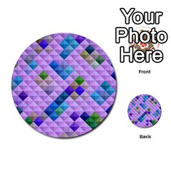 Mosaic & Co 01b Multi Purpose Cards (round)  by MoreColorsinLife