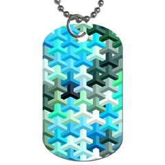 Mosaic & Co 02a Dog Tag (two Sides) by MoreColorsinLife