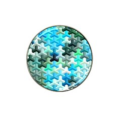 Mosaic & Co 02a Hat Clip Ball Marker by MoreColorsinLife